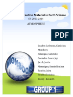Strategic Intervention Material in Earth Science (Atmosphere)