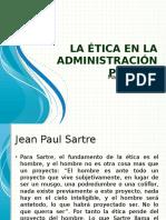 La Ética en La Administración Publica