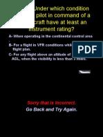 If r Preflight Review