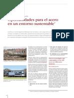 Oportunidades Para El Acero en Un Entorno Sustentable