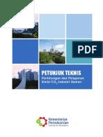 Petunjuk Teknis Perhitungan dan Pelaporan Emisi CO2 Industri Semen.pdf