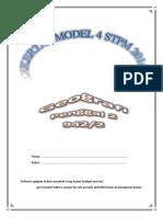 Kertas Model 4 Geografi STPM Penggal 2 2016