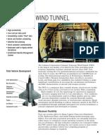 Calspan Transonic Wind Tunnel Linecard
