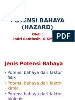 Potensi Bahaya (Hazard)