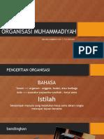ORGANISASI MUHAMMADIYAH