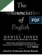 The Pronunciation of English - Daniel Jones