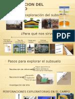 Exploracion Del Subsuelo