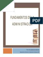 Fundamentos Administracion EGallardo