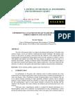Experimental Analysis of Solar Water Heater Using Porous Medium and Agitator