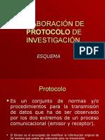 Elaboración de Protocolo de Investigación