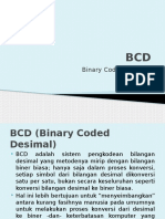 BCD (Binary Coded Desimal)