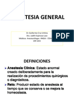 Anestesia General - 2016