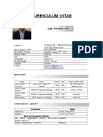 Agus Susanto CV New 2