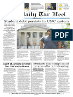 The Daily Tar Heel for April 20, 2016