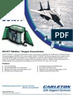 Model OC1077 Slimline Oxygen Concentrator