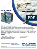 Model OC1132 Oxygen Concentrator