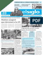 Edicion Impresa El Siglo 20-04-2016