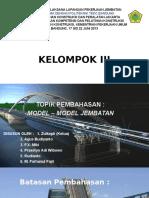 Model Model Jembatan