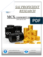 Daily MCX Report-Sai Proficient