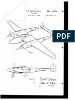 USD119714 Lockheed P-38 Design Patent