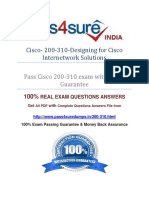 Pass4sure 200-310 Exam Question