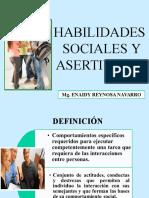 8 HABILIDADES SOCIALES