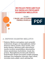 Hubungan Pencabutan Gigi Dengan Penyakit Diabetes Mellitus