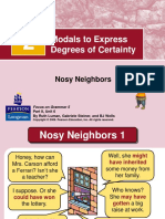 2 Modals to Express Degree of Certainty
