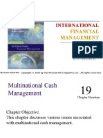 Cash Management of MNC