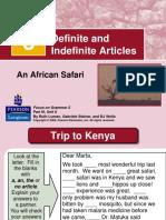 3 Definite and Indefinite Articles