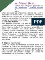Controles en Visual Basic
