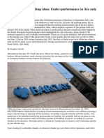 Why Barclays is selling Absa