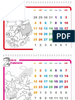 Plantilla de Windows Calendario