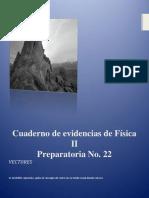 Cuaderno de Evidencias de Física 2 Parte 1 Vectores