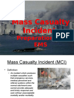 Multiple Casualty Training
