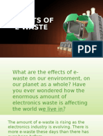 Effects of E-waste