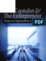 The Capitalist and and the Entrepreneur