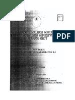 Instrumen Evaluasi Penerapan Standar Asuhan Keperawatan Di Rs 2005