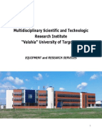 ICSTM Equipment and Research Services
