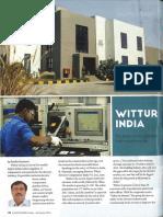 Elevator World India 3rd Quarter 2015 Wittur India