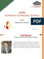 Exida Webinar - A Different Certification Scheme