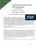 Rivew Artikel Pendekatan Psikiatrik Pada Pasien Pasca Amputasi Diabetik