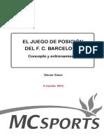 46. El Juego de Posicion Del FCB