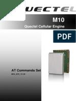 Quectel M10 at Commands