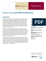 Paper Mp in Nfv Architectures RADISYS