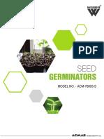 Seed Germinator