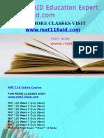 MAT 116 AID Education Expert-mat116aid.com
