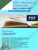 MAT 221 ASSIST Education Expert-mat221assist.com