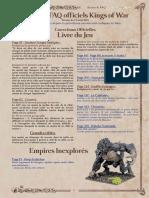 VF KoW FAQ&Errata Manticgames.fr
