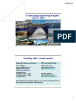 Week 1_Lecture Project ENGG461– Managing Engineering Projects